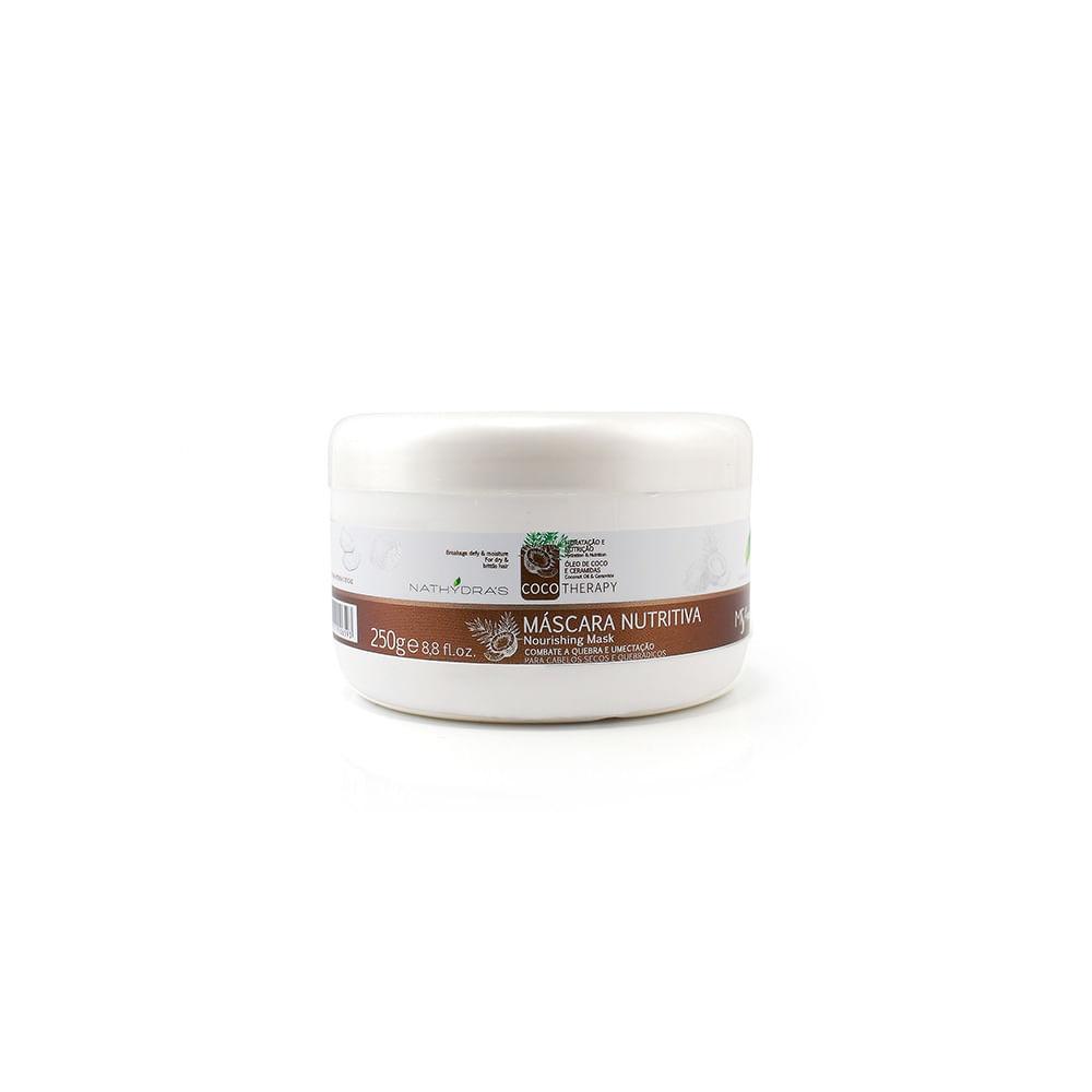 Mascara-Nutritiva-Nathydra's-Coco-Therapy-250g