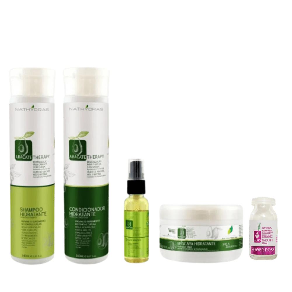 Kit-4-em-1-Shampoo-Condicionador-Mascara-Oleo-Abacate-Therapy