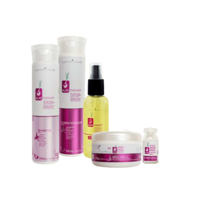 Kit-Nathydras-Alho-4-em-1---Shampoo-Condicionador-Mascara-e-Tonico-Capilar