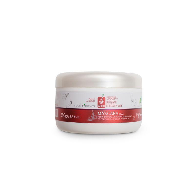Mascara-Red-Matizadora-Nathydras-Alho-Therapy-Reconstrucao-e-Fortalecimento-250g