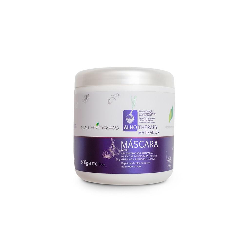 Mascara-Matizadora-Nathydras-Alho-Therapy-Reconstrucao-e-Fortalecimento-500g